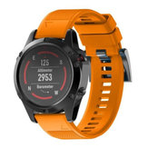 Silicone Strap Replacement Easy Fit Assista Banda Para Garmin Fenix5