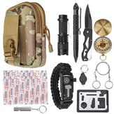 30 In 1 Tactical Survival Emergency Tools Bag Camping Travel Outdoor Soft Relief Kit