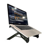 NEXSTANDK7-CN Foldable Laptop Stand Metal Desktop Laptop Bracket Riser Portable Cooling Pad Office Lapdesks for 11-18.4 inch Laptops