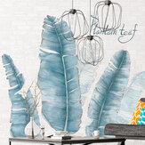 Горшечные Растения Стикеры Стены для Гостиной Спальни Крыльцо Кухня DIY Виниловые Самоклеящиеся Наклейки На Стены Растения Росписи