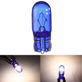 10個W5W / T10 5Wスーパーブライトホワイトライトキセノンサイドライト電球幅ランプ12V