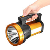500W 3000LM 1000m Gamma LED USB Work Light Impermeabile Mano Searchlight Torcia lampada Torcia Lanterna di emergenza Outdoor campeggio