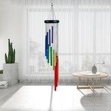 32 Inch Campanas de viento arcoíris al aire libre Campanas de viento de gracia asombrosas como regalo conmemorativo