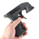Spray Adaptor Aerosol Spray Gun Handle with Full Grip Trigger Locking Collar