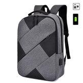 Plecak USB 25L Wodoodporny 15,6-calowy plecak na laptopa Sportowy plecak turystyczny