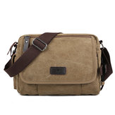 Canvas Outdoor Travel Leisure Shoulder Men Women Retro Capacity Crossbody Bag