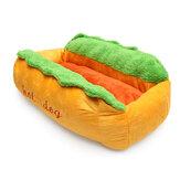 Anjing Dicuci Kapas Kennel Sarang Anjing Puppy Pet Bed Rumah Cushion Pad Hangat Tikar
