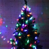 2M 20 LEDs Festival Battery Powered Bells String Lights Christmas Party Outdoor Indoor Decorations