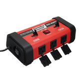 200W Power Inverter DC 12V a AC 110V USB Charger Adapter Convertitore sinusoidale modificato