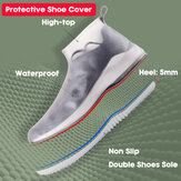 Women Reusable Waterproof Thickening Washable Non Slip Portable Shoe Covers