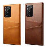 Bakeey Luxury PU Leather with Multi Card Slot Bumpers Противоударная защита от царапин Чехол для Samsung Galaxy Note 20 Ultra / Galaxy Note20 Ultra 5G