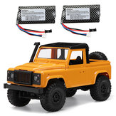MN D91 RTR with Two 1300mAh Battery 1/12 2.4G 4WD RC Car with LED Light Vehicles Truck Models