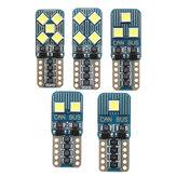 T10 2/4/6/8 / 10SMD LED Araba Yan Işaretleyici Işıkları Enstrüman Okuma Ampul 12 V 1.5 W 0.12A 8000 K