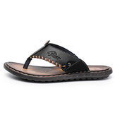 Mens Sandals Toe Shallow Summer Shoes Anti-slip Slippers Comfort Outdoor Sandals Summer Beach Shoes