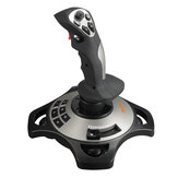PXN PXN-2113 Flight Stick Joystick Game Controller for PC Computer 4 Axis Arcade Control Gamepad for Fly Games