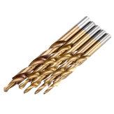 Drillpro 5 قطعة طلاء التيتانيوم تويست خطوة لقم الثقب لـ كتيب ثقب الجيب تهزهز نظام رئيسي لأداة النجارة