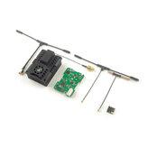 Happymodel ExpressLRS ES915TX 915MHz Módulo Transmissor de Alcance Ultra Longo e Receptor ES900RX para Radiomaster TX16S Jumper T12 T16 T18 Transmissor