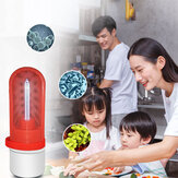 XANES® 360° 5m²  2.5W Powerful Mini UVC Disinfection Germicidal Light USB UV+Ozone Air Clean Kill Mites Ultraviolet Lamp