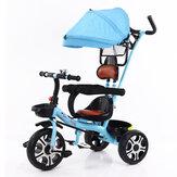 4-в-1 детская коляска для малышей 3 колеса детские велосипеды детский трехколесный велосипед На открытом воздухе велосипедный подарок