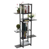 6 Tiers Wooden Bookshelf Plant Flower Stand Storage Rack Home Office Decorations Stand