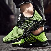 Ji Feng Mesh Buty sportowe na co dzień Męskie buty do biegania Oddychające Lekkie buty męskie