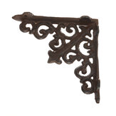 Antique Style Cast Iron Wall-Shelf Bracket Support