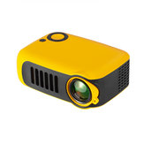 TRANSJEE A2000 Projector 800 Lumens 1000: 1 نسبة التباين 320 * 240P Native القرار يدعم 1080P 23 Languages Home Theater فيديو Projector