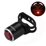 ROCKBROS W06 Smart Mini USB Rechargeable Bicicleta Taillight IPX5 Waterproof 5 Lumens 29g