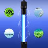 110V Waterproof Submersible Aquarium Fish Tank UV Sterilizer LED Light Bar Strip Lamp