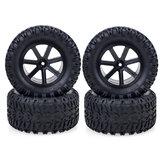 4pcs ZD Racing 1/10 RC Car Wheel Tire Dessert Off Road Vehicle Models Parts 10051