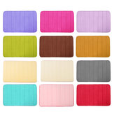 Anti-Slip Memory Foam Mat Absorbent Bath Bathroom Kitchen Floor Shower Carpet