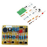 3pcs DIY Electronic Clapping Voice Control Switch Module Kit Induction Training DIY Production Kit