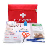 Emergency First Aid Kit 79 Piece Survival Supplies Bag for Car Travel Home Emergency Box
