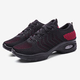 Women Cushioned Breathable Casual Shoes Wear-resisting Sneakers