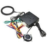 Avviamento motore senza motore Pulsanti RFID serratura Avviamento accensione senza chiave Avviamento 12 V