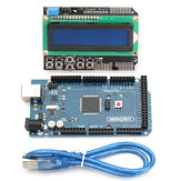 MEGA 2560 R3 Development Board MEGA2560 With LCD 1602 Keypad Shield Geekcreit for Arduino - products that work with official Arduino boards