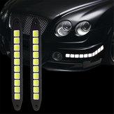 Marcadorlateraldoladodasluzes running do dia do carro da ESPIGA 12V de 10V que inverte a lâmpada do estacionamento