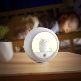 LED Night Light Cat Cabinet Magnetic Rechargeable Hanging Lamp Bedside Table Room