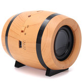 Mini Wireless Bluetooth Speaker Cool Beer Barrels Shape Double Speaker TF Card