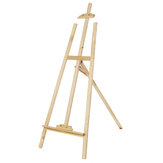 Wooden Tripod Easel Oil Painting Drawing Board Stand Easel Desktop Multifunctional Art Painting Rack