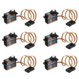 6X Emax ES9251 2.5g Πλαστικό Micro Digital Servo For RC Model