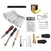 Leather Sewing Thread Carving DIY Leather Craft Tools Hand Stitching Kit Set