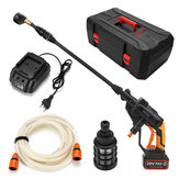 20V Portable 320PSI 22bar High Pressure Car Electric Washer Cleaning Auto Washing Set Tool