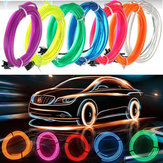 5M Led Flexibele EL Wire Neon Glow Light Strip Strip 12V Voor Christmas Holiday Party