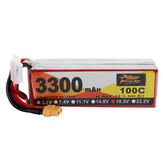 ZOP Power 18.5V 3300mAh 100C 5S Lipo Батарея XT60 Разъем для RC Racing Дрон