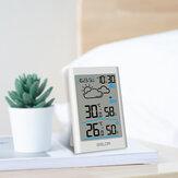 Baldr Weather StationLCD温度計湿度計メーター予報センサー屋内屋外センサー