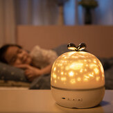 Coversage Rotating Night Light proiettore Spin Starry Sky Star Ocean World Bambini Bambini Baby Sleep Proiezione romantica