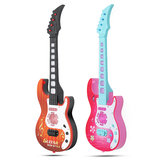 21''BarnKidsElectric4StringGuitar Acoustic Musical Toys Instrument Gift