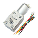 CHIHAI GM4632-370 DC 12V 30RPM High torque Turbo Encoder Motor Worm Geared Motor Reducer Motor