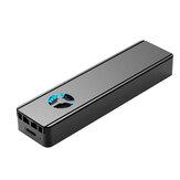 Rocketek M.2 SSD NVME-Gehäuse Gehäuse Eingebauter Lüfter M.2 auf USB 3.1 Type-C Adapter für NGFF PCIE M-Key B- und M-Key-Festplattenbox